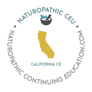 California Naturopathic Continuing Education