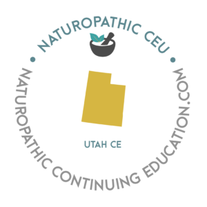Utah Naturopathic Continuing Education