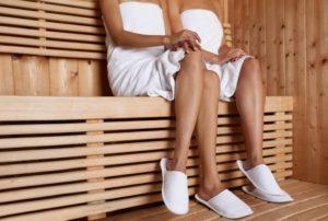 Steam Bath : Sauna